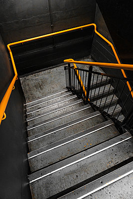 Concrete Staircase - p1280m2008553 by Dave Wall