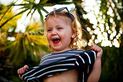 Kind im Urlaub - p1386m1452197 von beesch