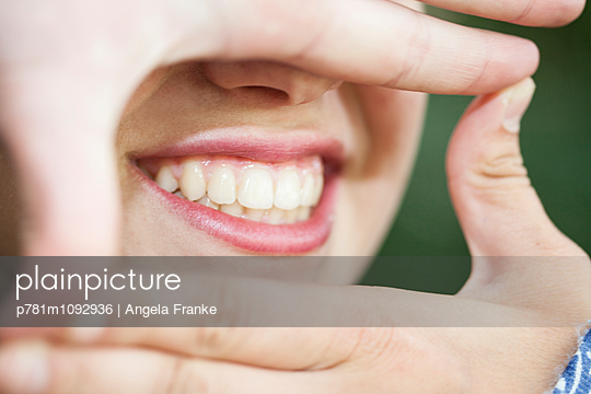 Dental care - p781m1092936 by Angela Franke