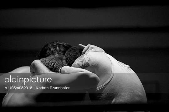 Wrestling - p1195m982918 von Kathrin Brunnhofer