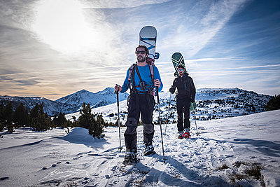 Ski tour - p1007m959950 by Tilby Vattard