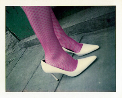 Purple stockings - p3420509 by Thorsten Marquardt