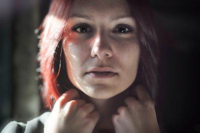 Portrait of beautiful young woman - p577m954678 by Mihaela Ninic