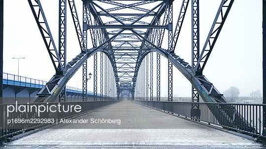 Old Elbe Bridge - p1696m2292983 by Alexander Schönberg