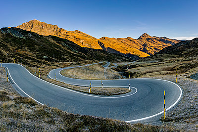 Switzerland, Canton of Graubuenden, Swiss Alps, San Bernardino Pass, Passo del San Bernardino - p300m1537594 by Stefan Schurr