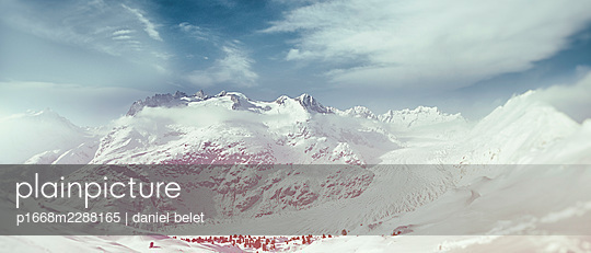Switzerland, Bettmeralp - p1668m2288165 by daniel belet