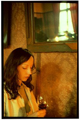 Krakow, Poland, singer in a café   - p5674107 by Alexis Bastin