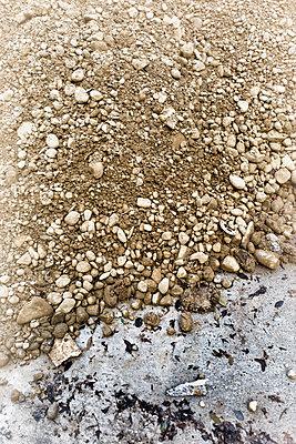 Heap Stones pile building construction site earth - p609m1226569 by OSKARQ