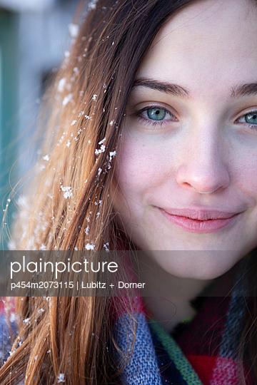 Winter Schönheit - p454m2073115 von Lubitz + Dorner