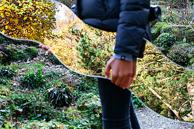 Spiegelung der Natur - p728m1193632 von Peter Nitsch