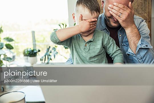 deutschland,mannheim,lifestyle,people,family,zuhause - p300m2286856 von Uwe Umstätter