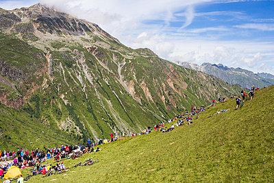 Croix de Fer, Tour de France - p1173m1034387 von Gilles Leimdorfer