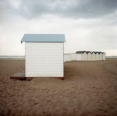 Strandhütte - p387m900829 von Patricia Eichert