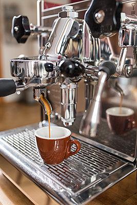 Espresso machine - p954m1131907 by Heidi Mayer