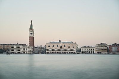 St. Mark's Basilica and doges palace - p1312m2054936 by Axel Killian