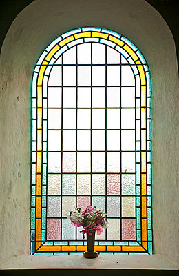 Church window - p3820158 by Anna Matzen