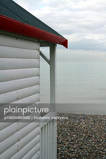 Beach house - p1063m893682 by Ekaterina Vasilyeva