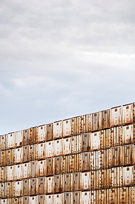Shipping containers - p3720387 by James Godman
