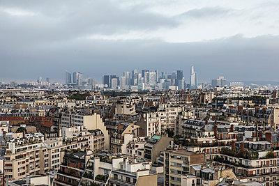 Paris roofs - p1329m2161171 by T. Béhuret