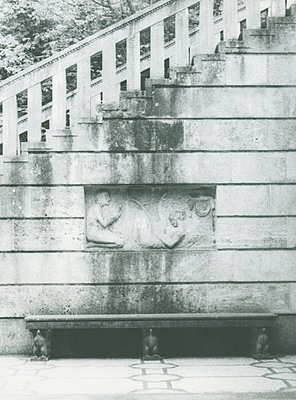 Deutschland, Baden-Württemberg, Stuttgart, Marmorsaal, Weißenburgpark - p1677m2258940 by nina e. reiter