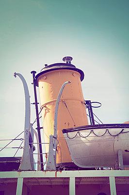 Historischer Dampfer - p470m1090546 von Ingrid Michel