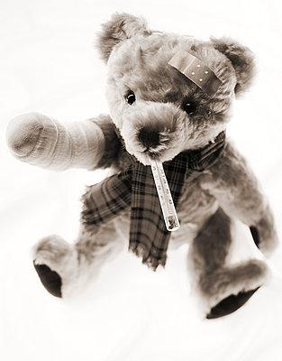 Ill teddy bear - p8050016 by C. Schmidt