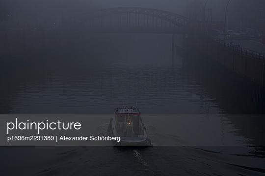 Ship at night - p1696m2291389 by Alexander Schönberg