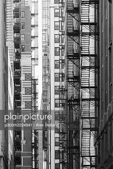 Full frame shot of skyscrapers, Chicago, USA - p300m2224941 by Alex Holland