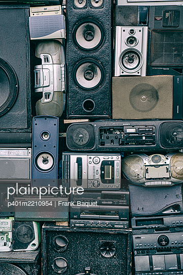 Old electrical appliances - p401m2210954 by Frank Baquet