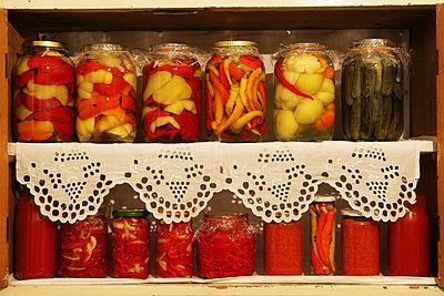 Pickled vegetables, Baranja, Croatia - p1026m992012f by Romulic-Stojcic