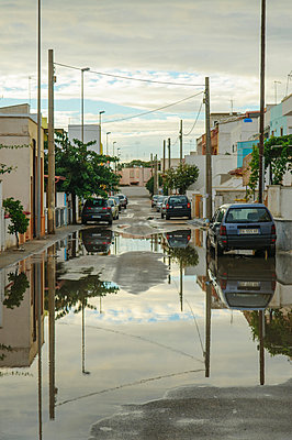 Bad weather in Lido Marini - p324m932787 by Christina Kruse