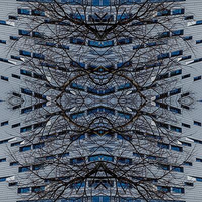 Modern architecture kaleidoscope - p401m2257668 by Frank Baquet
