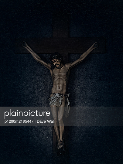 Crucifix, Jesus Christ - p1280m2195447 by Dave Wall