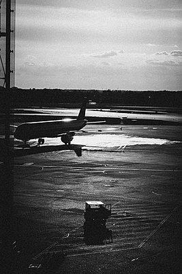Dawn at Airport - p1085m1064377 by David Carreno Hansen