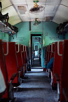Abteil im Zug - p1114m1158637 von Carina Wendland