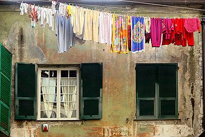 Clothesline - p9770011 by Sandrine Pic
