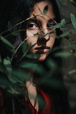 Teenage portrait - p1623m2212037 by Donatella Loi