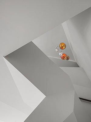 Staircase and room ceiling - p390m1516464 by Frank Herfort