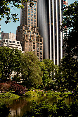 Sommer im Park, New York City - p758m1004807 von L. Ajtay