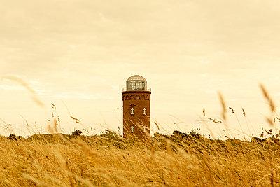 Germany, Ruegen, positioning tower at Cape Arkona - p300m1023037f by Hans Lippert