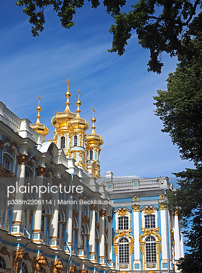 Russia, Catherine Palace in Puschkin - p338m2206114 by Marion Beckhäuser