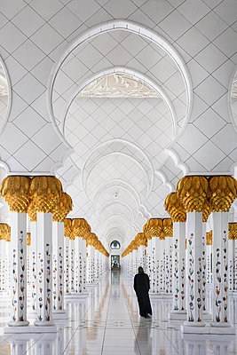 Scheich Zayed Moschee - p1653m2232315 von Vladimir Proshin