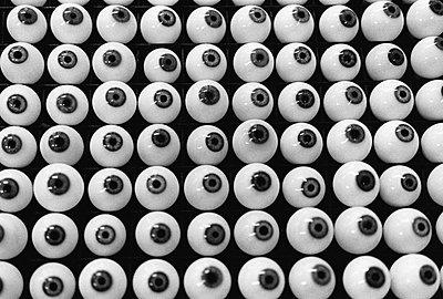 Glass eyes - p1418m1571547 by Jan Håkan Dahlström
