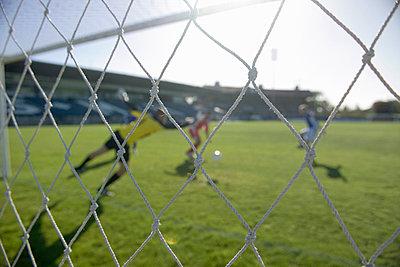 A soccer match - p3014454f by Tobias Titz