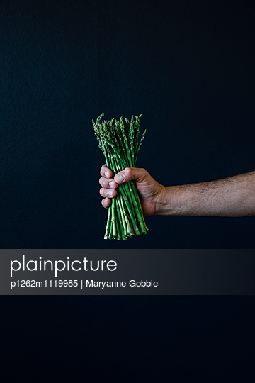 Asparagus  - p1262m1119985 by Maryanne Gobble