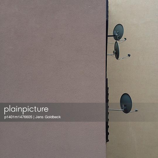 Kutná Hora, Satellitenschüsseln - p1401m1476605 von Jens Goldbeck