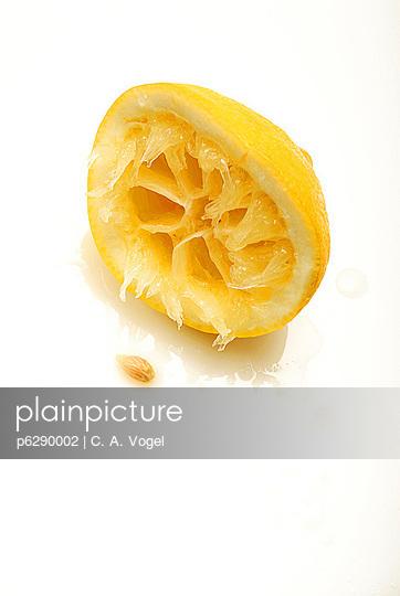 Ausgequetschte Zitrone - p6290002 von C. A. Vogel