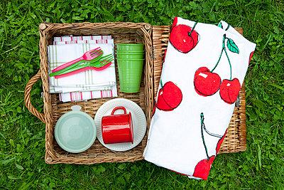 Picknick mit Kirschen - p4541489 von Lubitz + Dorner