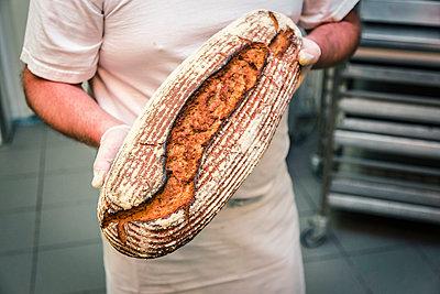Brot backen - p743m1193673 von Stefan Freund