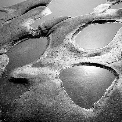 neuseeland Sandloecher am Strand - p627m672298 by Kirsten Nijhof